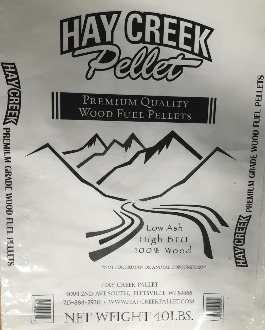 haycreek wood pellets