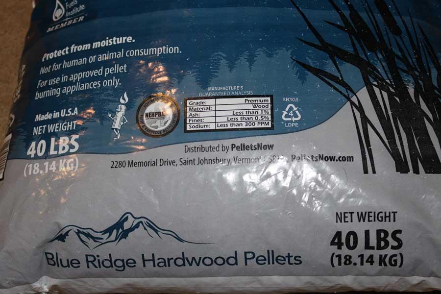 Blue Ridge Hardwood Pellets - Wood Pellet Reviews