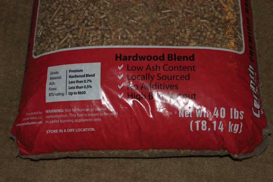 Corinth Hardwood Blend Red Bag Wood Pellet Reviews