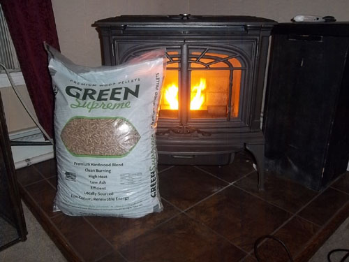 Green Supreme Wood Pellets