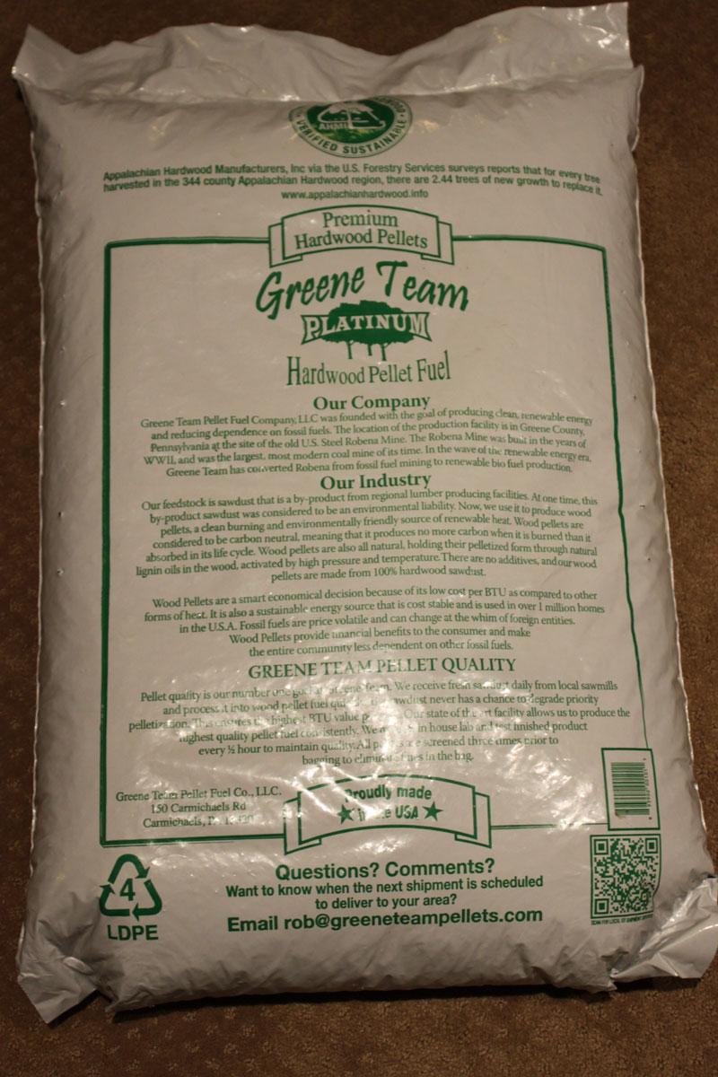 Greene Team Wood Pellets Wood Pellet Reviews