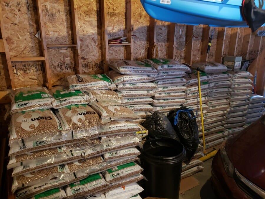 wood-pellet-storage